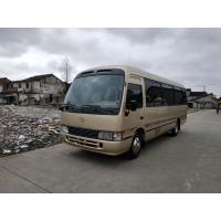 Wholesale Good Performance 30 Seats Passenger Car TOYOTA COASTER Used Medium Luxury Coach Bus from china suppliers