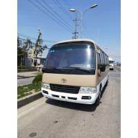 Wholesale diesel / petrol 2015 2016 luxury mini coach used toyota coaster with 30seats for sale from china suppliers