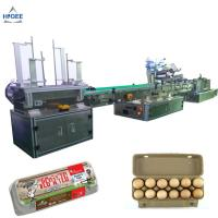 Wholesale Farm chicken eggs labeling machine with eggs expiry date printing machine ,egg box labeling machine with egg tray from china suppliers