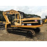China Cat 320bl Used Wheel Excavator / Used Cat Mini Excavator 1.2m3 Bucket on sale