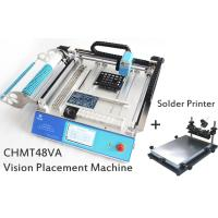 Best SMT Placement Equipment Small Desktop Pick And Place Machine With Solder Printer wholesale