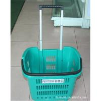 Wholesale Shopping Basket with Wheels,supply famous supermarket from china suppliers