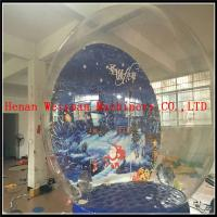 Wholesale 4M inflatable transparent snow globe for exhibition/Inflatable Christmas Snow Globe from china suppliers