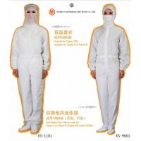 Wholesale Medical Surgical Instruments Men / Women Anti Static Overalls Suitable For Class A & Class B /  Class 100 from china suppliers