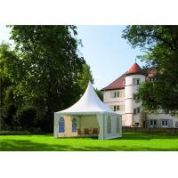 Quality Light Weight Tenda Pagoda Party Tent Hot - Dip Galvanized Steel 5m X 5m for sale
