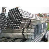 Wholesale Φ22 Greenhouse Steel Pipe , Hot Dip / Cold GI Galvanized Pipe Greenhouse Frame from china suppliers