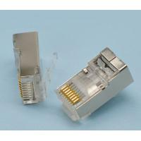 Wholesale Data Transfer Rj45 8p8c Connector , 8 Pin Network Cable Connector 1.1mm Pitch from china suppliers