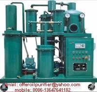 Sell Vacuum Lubrication Oil Purifier Machine, Oil Filtering