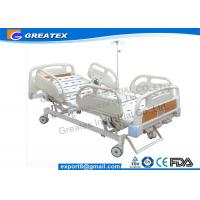 Wholesale Folding adjustable Manual Hospital Bed / Three crank hospital bed PP materials , ABS from china suppliers