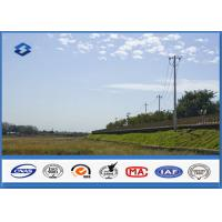 Best Low Voltage Single Circult Electric Steel Power Pole with Hot Dip Galvanization wholesale