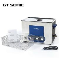 China Moisture Proof Ultrasonic Cleaning Equipment Various Tank Size 27L on sale