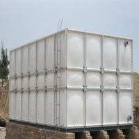 China SMC Made FRP Fiberglass Composite SMC Water Tank for fire protection for sale