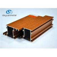Wholesale Nature Color Wood Grain Aluminum Extrusion  / Aluminum Extrusion Framing Systems from china suppliers