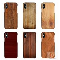 Wholesale Customized Wood Printed Cell Phone Covers For IPhone X , 3D Sublimation Blank Phone Case from china suppliers