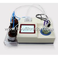 Wholesale LCD Display Karl Fischer Volumetric Water Content Analysis Tester, Oil Trace moisture titrator, ppm Analyzer from china suppliers
