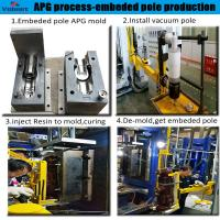 Wholesale best factory price apg clamping machine composite insulator from china suppliers
