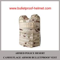 Wholesale Wholesale Cheap China NIJ Armed Police Desert Camo Military Armor Bulletproof Vest from china suppliers
