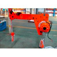 Wholesale 1 Ton 1000 KG High Efficiency Compact Low Headroom Electric Double Hook Chain Hoist from china suppliers
