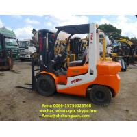 Wholesale FD30 Japan TCM 2nd Hand Forklift 3 Ton Diesel Engine With Side Shift from china suppliers
