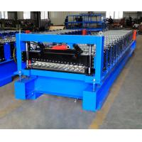 Wholesale Corrugated Steel Panel Roll Forming Machine , Steel Frame Roll Former 12-18m/Min from china suppliers