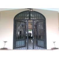 Wholesale Customized Aluminium Security Door Frame With Powder Coating Grey ISO SGS from china suppliers