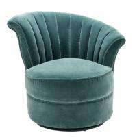 Wholesale modern classic velvet fabric singe lounge chairs for luxury wedding furniture from china suppliers