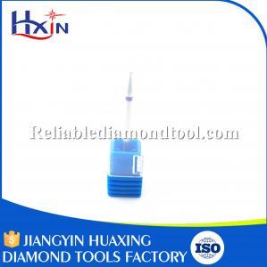 Best Diameter for 1.0mm Silver Blue Teeth Medium Tungsten Carbide Burrs Diamond Overall Length 45mm wholesale