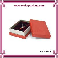Custom necklace paper gift box/Jewelry printed cardboad paper box ME-ZB010 for sale