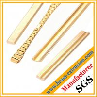 Wholesale Extruded brass profiles sections of watch belt from china suppliers