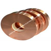 Wholesale Electric Industry Copper Foil Strip ASTM C11000 Grade Pure Copper Red Color from china suppliers