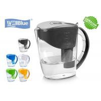 Alkaline Classic Water Pitcher PP Plastic Type 2L Filtration Capacity With PH 8-10 for sale