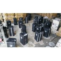 Guangxi Black Marble Car Packing Stone China Pure Black Marble Packing Barriers for sale