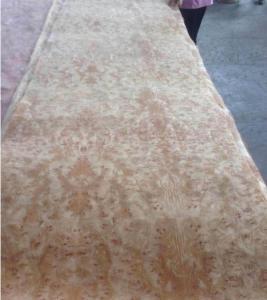 Wholesale Golden Camphor Burl Paper Backed Veneer, Paper Backed Burl Veneer from china suppliers