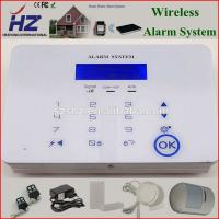 China Touch Screen Wireless Hi-tech security gsm alarm system on sale