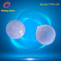 China HDPE material cap shape dome fresnel lens,pir fresnel lens Model 7709-1W for human body infrared detection for sale