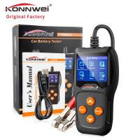 China Battery life tester KONNWEI KW600 Auto Battery Analyzer battery load tester for all 12v car on sale