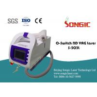 China Portable Q Switch Tattoo Removal Machine , Skin rejuvenation Device for sale