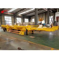 Wholesale Yellow Color Terminal Trailer Double Axles Container Transport For Truck from china suppliers