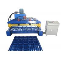 China YX-800/1000 Building Material Glazing Roof Tile Roll Fomring Making Machine for sale