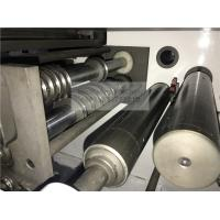 China Automatic Paper Adhesive Blank Label Slitting With Die Cutting Rewinding Machine for sale