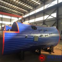 China Horizontal Generator Set Waste Heat Boiler Of Heavy Oil Generator Set for sale