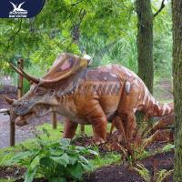 Wholesale Outside Mechanical Realistic Life Size Dinosaur Models For Exhibit from china suppliers
