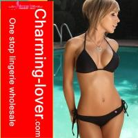 China 3 color triangle sexy bikini and swimwear for adult wholesale cheap on sale
