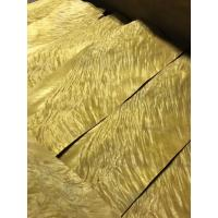 Wholesale Golden Phoebe Burl in full 0.50mm thickness for fine furniture from china suppliers
