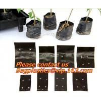 China garden bags, grow bags, hanging plant bags, planters, LDPE plant, grow, nursery bags, Grow Bags Hydroponics Soil Garden on sale