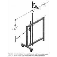 Simple Operation Flammability Testing Equipment For Furniture Components
