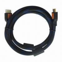Wholesale HDMI Cable A/A, 1.5M L, with Braid from china suppliers