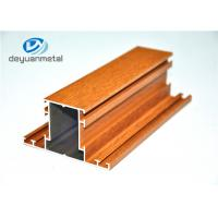 Wholesale Mill Finished Extruded Aluminum Stock Shapes , Durable Aluminium Alloy Profile from china suppliers