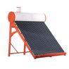 Non Pressurized vacuum tube solar water heater for sale