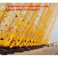 Wholesale XCMG 50 Tons Small Crawler Crane Xgc55 With Hammer , Max. Rated Lifting Capacity 55T from china suppliers